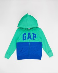 GapKids - Colour-Blocked Full-Zip Hoodie - Teens