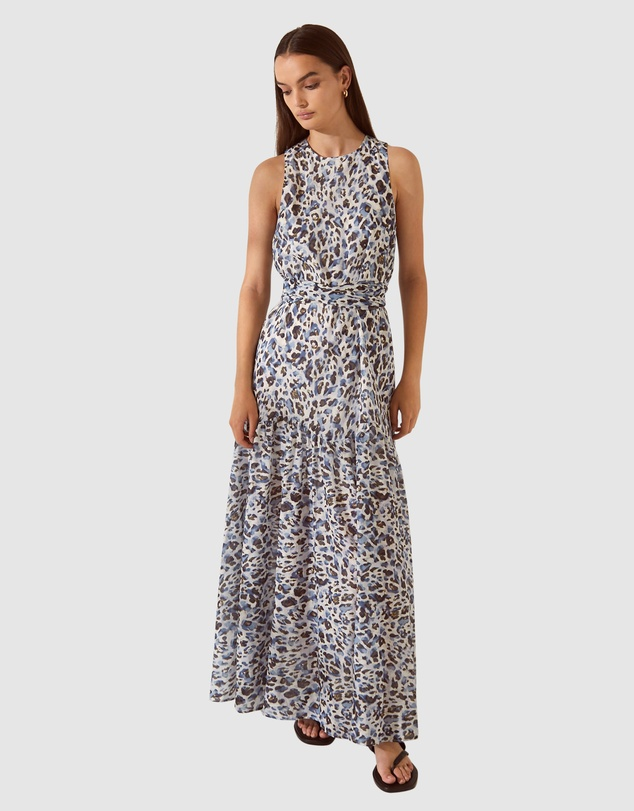 SABA - SB Iris Cotton Maxi Dress