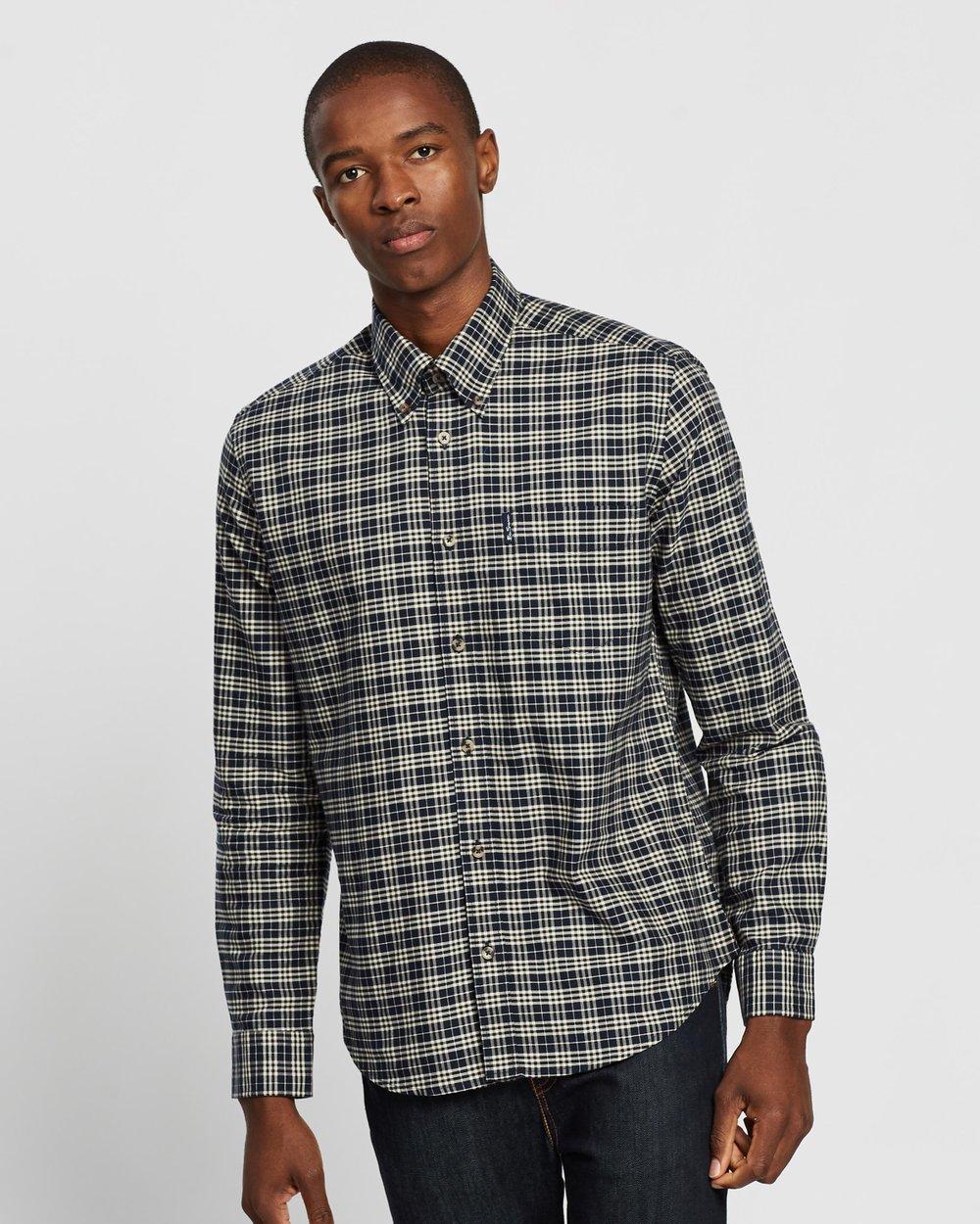Ben Sherman Mens Ls Classic Check Shirt