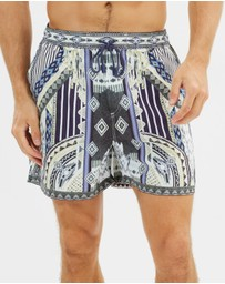 Camilla - Tie the Knot Boardshorts