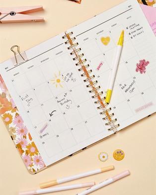 Typo 2021 Premium Planner - All Stationery (Charlie Floral Oat Milk)