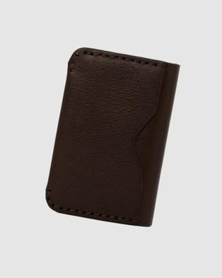 Loop Leather Co Wally - Wallets (Chocolate)
