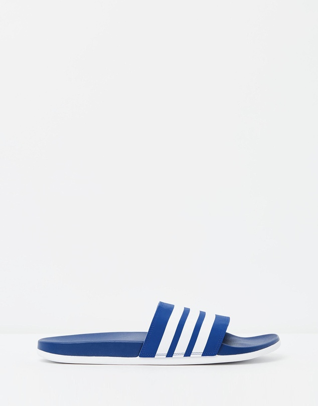 ba2214a6 Adilette Cloudfoam Plus Stripes Slides - Men's