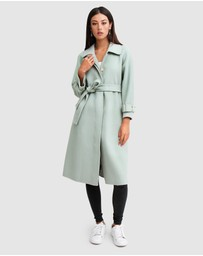 Belle & Bloom - Shore To Shore Belted Wool Coat