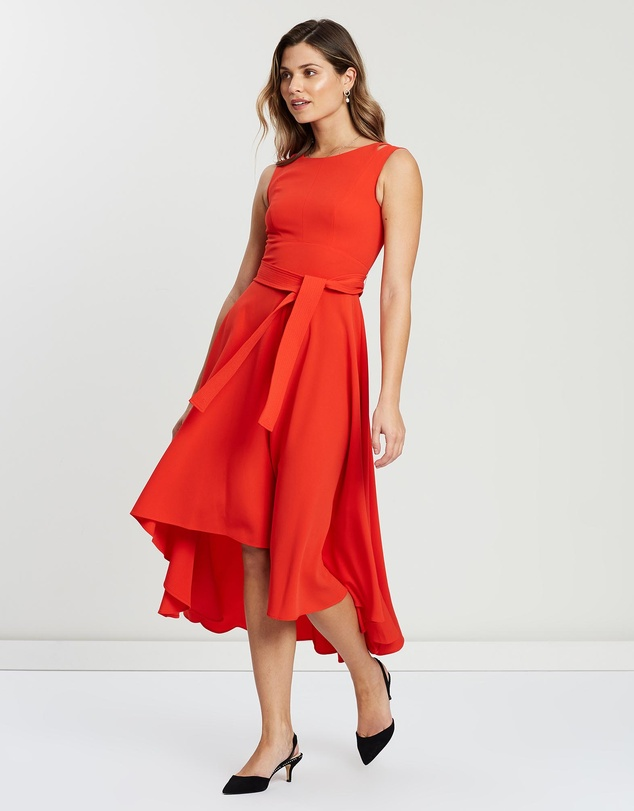 Karen Millen - Asymmetric Belted Dress