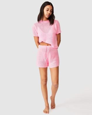 Cotton On Body Summer Lounge Shorts - Sleepwear (Strawberry)