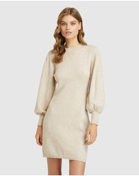 Oxford - Olsend Wide Sleeve Mini Dress