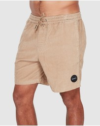 RVCA - Lord Of Cord Elastic Walkshorts