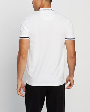 BOSS Slim Fit Polo Shirt - Shirts & Polos (White)