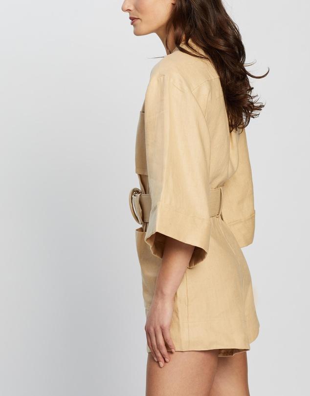 Women Carmen Box Sleeve Boiler Suit