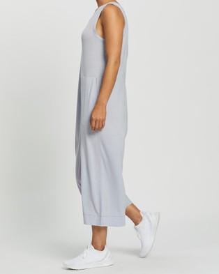 Icebreaker Hana Jumpsuit - Dresses (Mercury Heather)