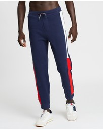 Tommy Jeans - Jacquard Flag Sweatpants