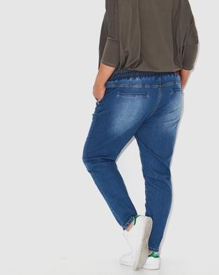 17 Sundays Warpaint Joggers - Jeans (neon indigo)