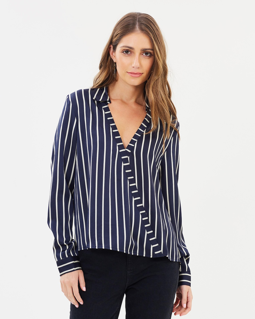 Fresh Soul Pace Top Tops Navy Stripe Pace Top