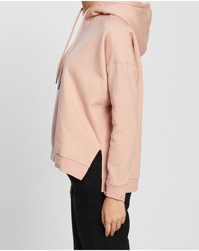 All About Eve Wanted Hoodie Pink