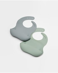 Bebe by Minihaha - 2 Pack Silicone Bibs