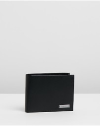 Calvin Klein - Smooth Plaque Coin Wallet