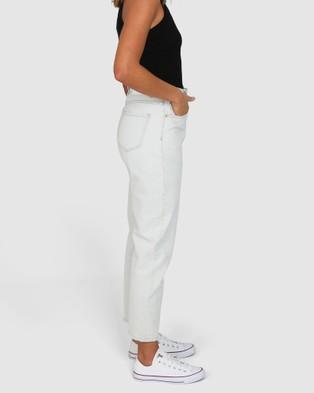 BY.DYLN Maci Mom Jeans - Mom Jeans (Light Blue)
