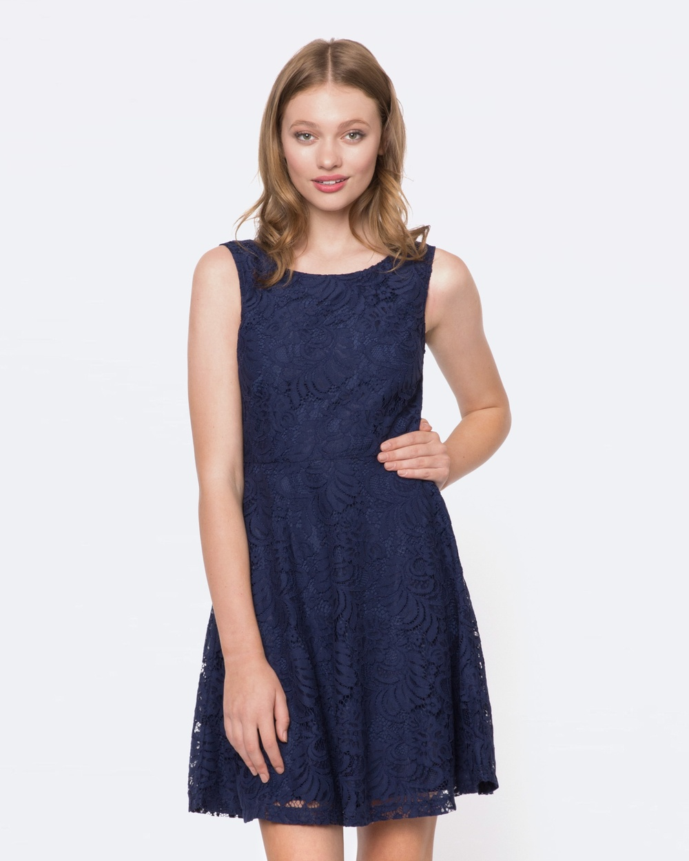 Princess Highway Sophia Dress Printed Dresses Blue Sophia Dress