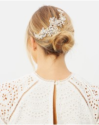 Ivory Knot - Polly Hair Comb