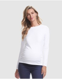 Soon Maternity - Organic Cotton Long Sleeve Tee