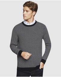 Oxford - Saxon Jacquard Knit