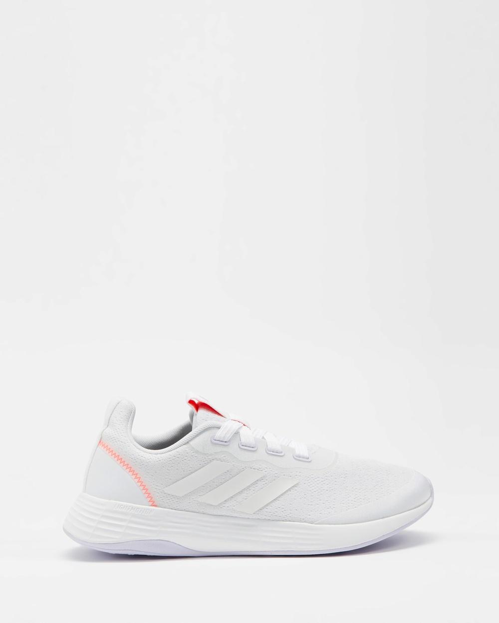 adidas Performance QT Racer Sport Shoes Women's Training White, Purple Tint & Solar Red