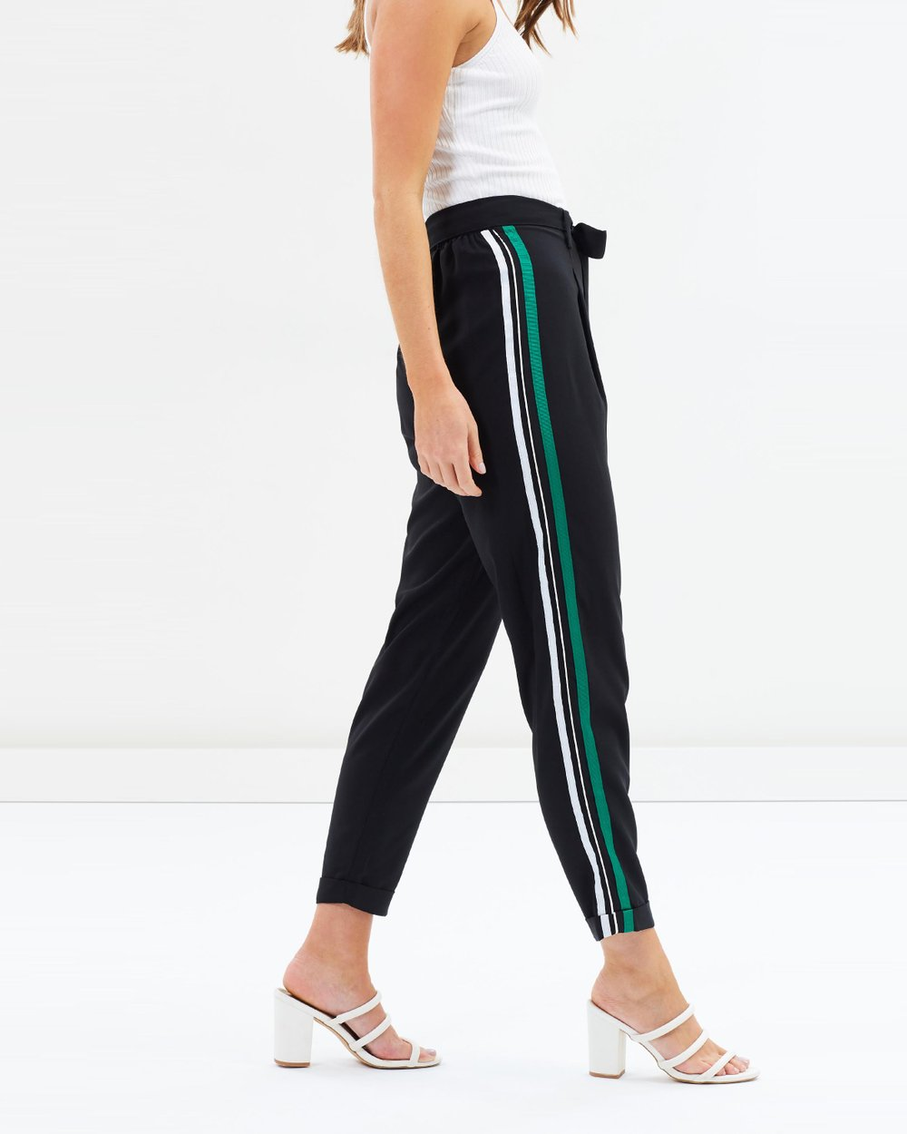 897bde4f7ee593 Side Striped Jogger Pants by Dorothy Perkins Online | THE ICONIC | Australia