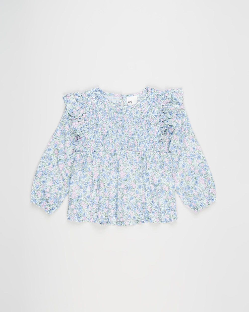Cotton On Kids - Jaki Fashion Long Sleeve Top    Kids - Tops (Vanilla & Vintage Floral) Jaki Fashion Long Sleeve Top -  Kids