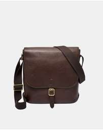 Fossil - Buckner  Dark Brown NS City Bag