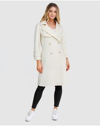 Belle & Bloom - Endless Attention Wool Coat