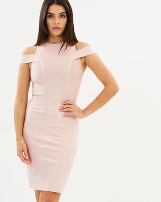 Jewels + Grace – Marie Dress – Bodycon Dresses Blush