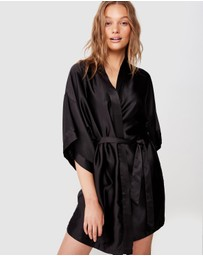 Cotton On Body - Satin Kimono Gown