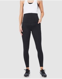 Soon Maternity - Sage Side Pocket Active Leggings