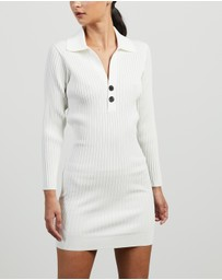 Self Portrait - Rib Knit Mini Dress
