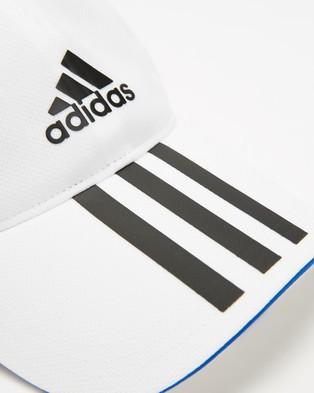 adidas Performance Mesh Cap   Kids Teens - Headwear (White & Black)