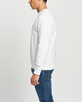 Calvin Klein Jeans - CK Essential Regular Crew Neck Sweatshirt Sweats (Bright White)