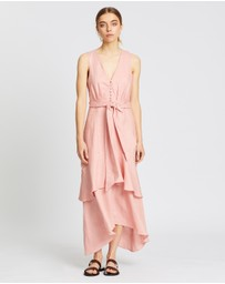 AERE - Linen Layered Dress