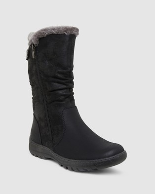 Easy Steps - Element Knee-High Boots (BLACK)