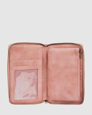 Roxy Magic Happens Zip Around Wallet - Accessories (ASH ROSE)