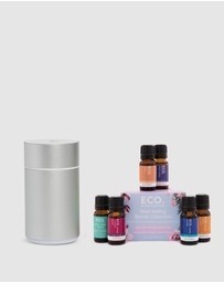 ECO. Modern Essentials - ECO. Nebulizing Diffuser & Best-Selling Blends Collection
