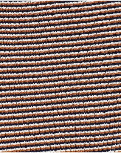 Marcs Amsterdam Stripe Knit Top Navy Multi