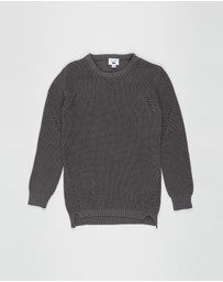 Free by Cotton On - Dylan Step Crew Jumper - Teens