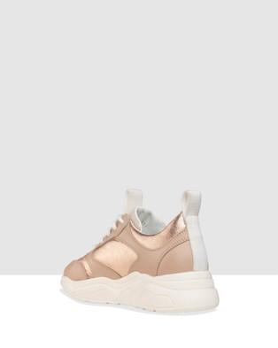 Habbot Verdi Lace Up Sneakers - Slip-On Sneakers (Pink)