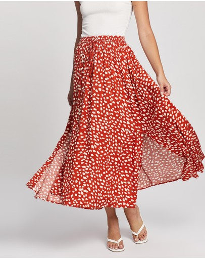 Atmos&Here - Domanique Midi Skirt