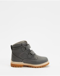 Cotton On Kids - Double Strap Boots - Kids