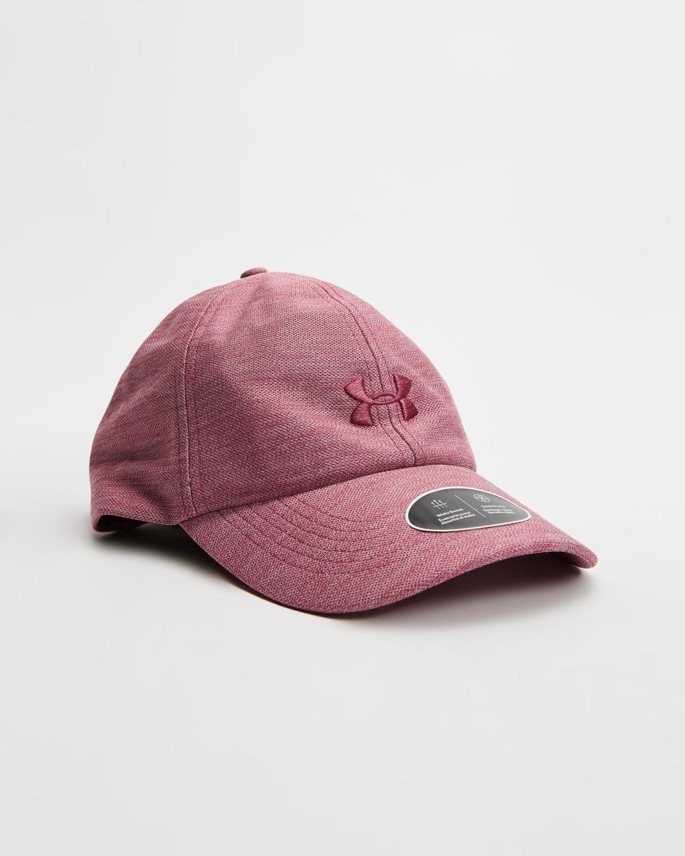 Under Armour Heathered Play Up Cap Headwear Pink Quartz