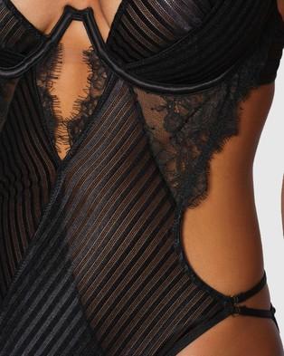 Ann Summers The Ruthless Bodysuit - Lingerie (Black)