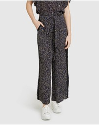 Oxford - Gia Black Confetti Pants