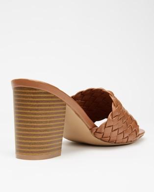 SPURR Hale Heels - Sandals (Tan Smooth)
